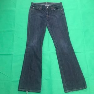 7 For All Man Kind Skinny Bootcut 27